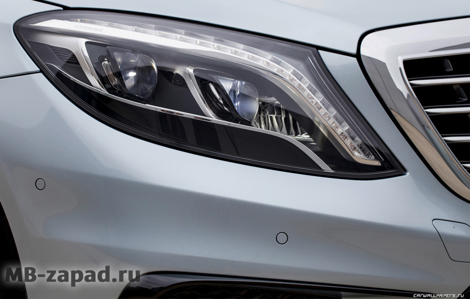 Фары intelligent light Mercedes S W222