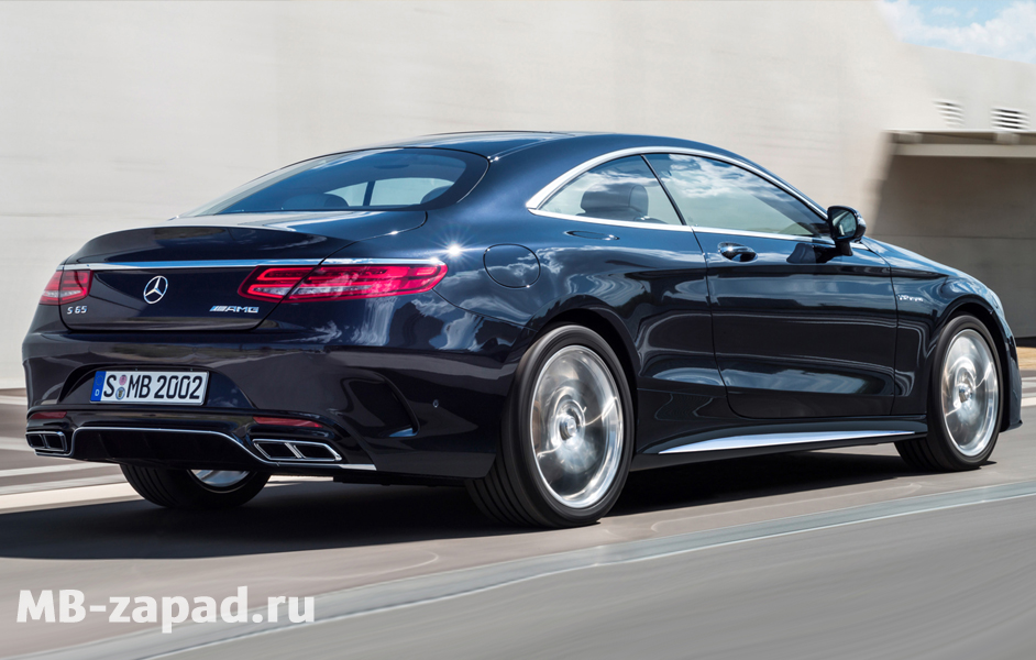 Обвес AMG Mercedes S65 coupe